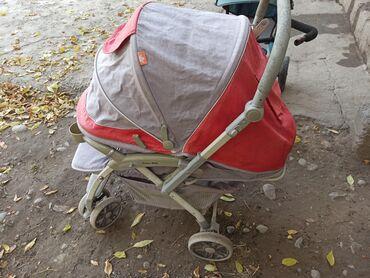 Продаю коляску от фирма голлден бейби только надо отстирать состояние