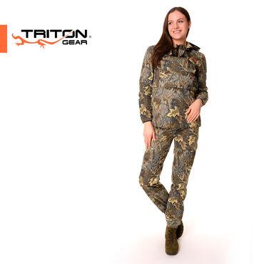 ДЕВЧАТА для ВАС ⠀Универсальный женский костюм Тритон «Форестер»