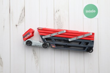 Игрушки - Украина: Дитяча іграшка машинковоз Hot Wheels Оригінал   Довжина: 47 см Можна в