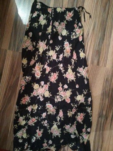 платье с фатиновой юбкой в пол в Кыргызстан: Юбка шифон ~42р,в отл сост,ниже колен,почти в пол