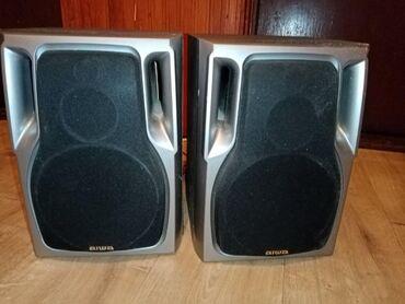 Aiwa zvucnici ispravni rade odlicno lep i cist zvuk daju. Pisati ili