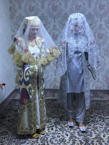 Продаю национальные платья, одевали один раз золото размер 42-44