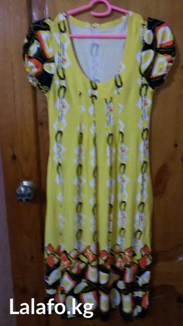 Продаю турецкое платье в отл. состоянии. размер 46-48 в Кожояр