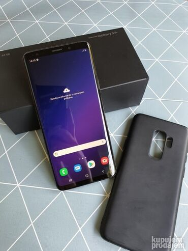 Fiksni telefon - Srbija: Upotrebljen Samsung Galaxy S9 Plus 64 GB crno