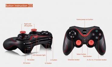 джойстики-геймпад в Кыргызстан: Поколения игр S6 Беспроводной bluetooth геймпад Bluetooth 3.0 джойстик
