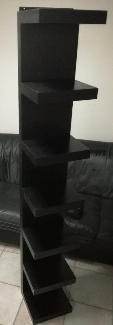 Πωλείται μαύρο ξύλινο έπιπλο διακόσμησης, με 7 ράφια! σε Αθήνα