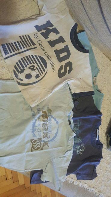 4 majice za decaka od 3-4 godine cena za sve 4 - Pozarevac