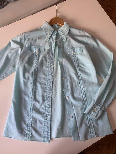 Ženska odeća | Kursumlija: Ženska košulja, nebo plava, 40 broj