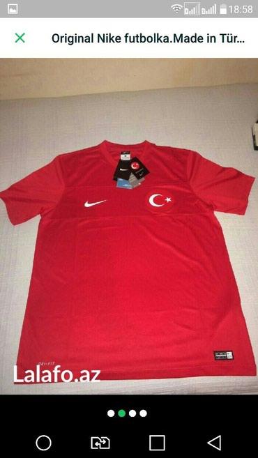Bakı şəhərində Original nike futbolka razmer l. Tezedir made in türkiyə.