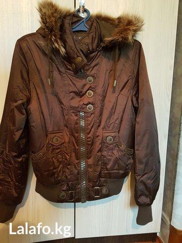женская куртка осень весна в Кыргызстан: Куртка осень - весна! состояние хорошее. размер 46-48 (xxl) цвет