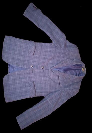 Пиджак мужскойРазмер:42Цвет: тёмно-синий в шахматДва внутренних