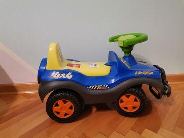 Volan - Srbija: Decije auto na guranje, ne radi volan, ali je ovako kao nov, truba rad