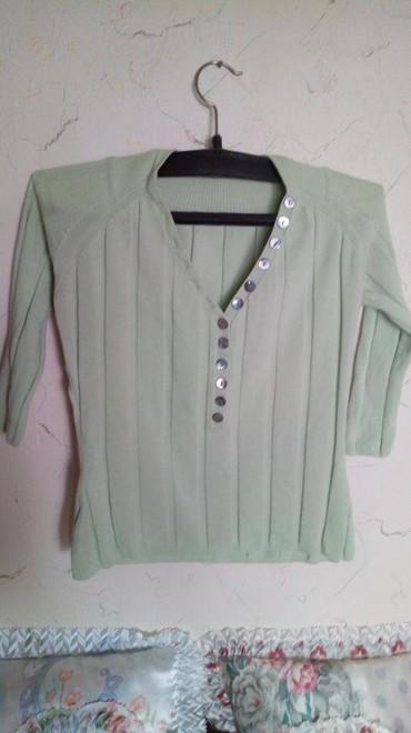 Bluza nova pamucna kraci model,sa elastinom...obim grudi do 90. - Kraljevo