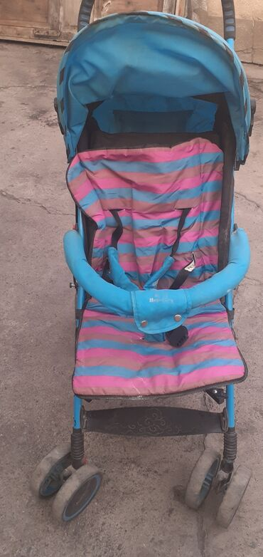 прогулочные-коляски-трехколесные в Кыргызстан: Продам б/у коляску трость в хорошем состоянии все целое матрасик