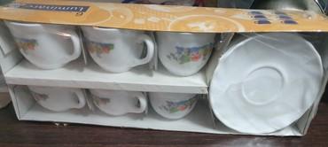 luminarc наборы посуды в Азербайджан: Luminarc qehve desti. 12 neferlik