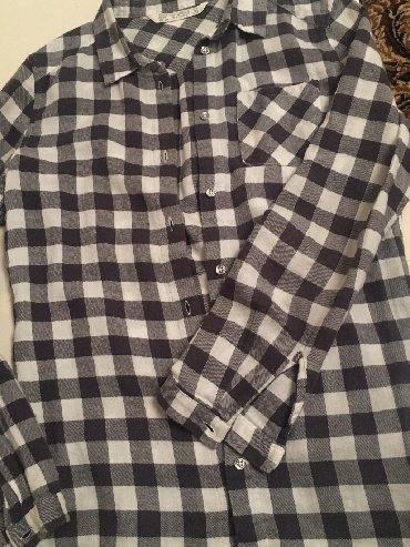 женские рубашки в клетку в Азербайджан: Рубашки и блузы HM XS