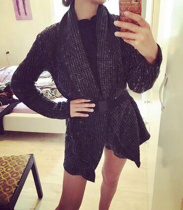 Ženska džemperi   Srbija: Crni dzemper vintage od vune i likre  Velicina S Moze se nositi i kao
