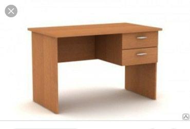 торги офисная мебель в Кыргызстан: Стол однотумбовыйРазмеры 120*65смИмеется в