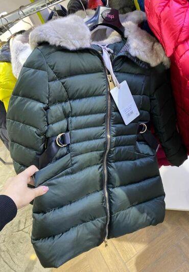Зима Куртка ИталияОчень тёплаяБрал зимойСостояние идеалРазмер 10-11лет