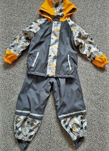 Dečija odeća i obuća - Loznica: Gumiran,postavljen,topao komplet za kisu ili sneg