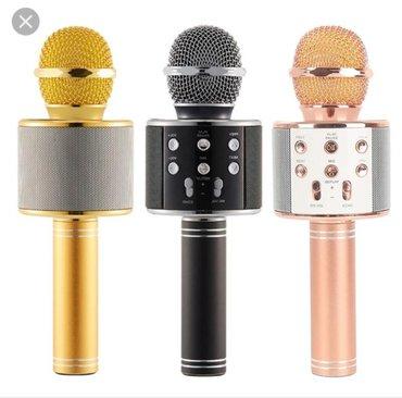 Bakı şəhərində Karoke üçün Mikrofon satılır Təzə upokovkada orginal Blutuzu var
