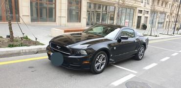 Bakı şəhərində Ford Mustang 2013