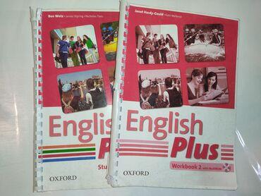 english home бишкек in Кыргызстан   КИТЕПТЕР, ЖУРНАЛДАР, CD, DVD: English plus Student's book 2 and work book 2 Oxford Ben Wetz James