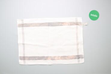 Кухонные принадлежности - Украина: Кухонний рушник зі смужками Zara Home    Колір: білий  Розмір: 50 х 70