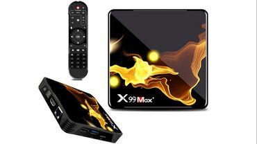 Tv smart - Srbija: Android Smart TV BOX - 4/64GB - X99 Max Plus 8K UHD- Novi MODEL