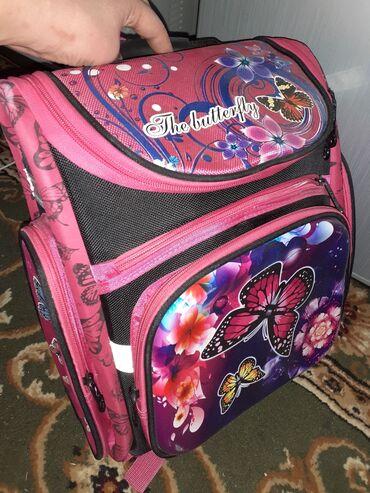 Новая девчачья сумка с 1 по 4 класс смело, не рас ни одетая, всего лиш