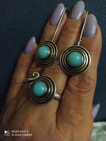 серебряные обручальные кольца бишкек in Кыргызстан   ГРУЗОВЫЕ ПЕРЕВОЗКИ: Заказной серебряный набор, эксклюзив,шикарно смотрится,изящный,с нежно