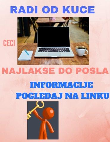 LEGALAN POSAO BEZ RIZIKA - Mladenovac