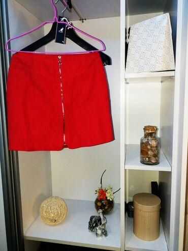 Teksas suknjica - Srbija: Suknjice od Crvena S 500dinZuta univerzalna 500Braon somot S 500Teget