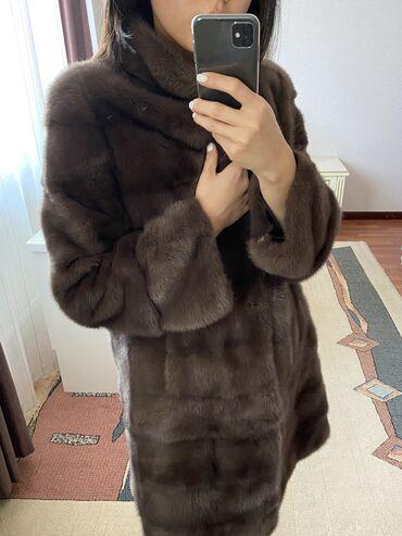 длинные летние платья для беременных в Кыргызстан: Норковая шуба-трансформер, идеальное состояние, длина отстегивается, р