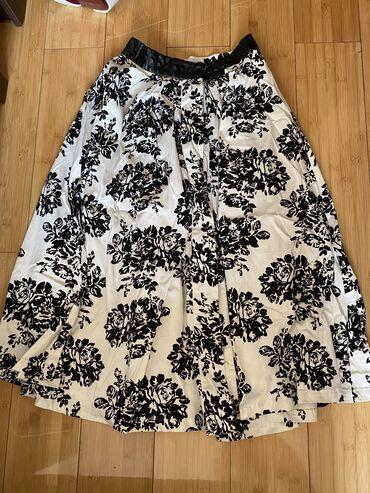 Шикарная юбка  размер С/М  турция  ткань огонь  800с