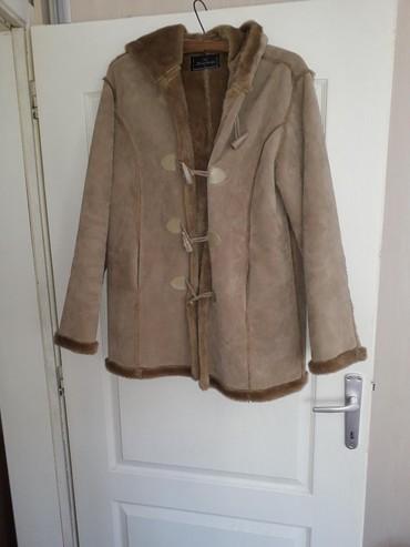 Zimske-jakne - Srbija: Zimska zenska jakna,takozvani Djubretarac. Braon boje,nova jakna ne