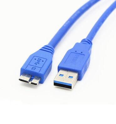 флешки usb usb 3 0 в Кыргызстан: Кабель USB 3.0 A- USB 3.0 Micro-B длина 1 метр, USB 3. 0 Type A