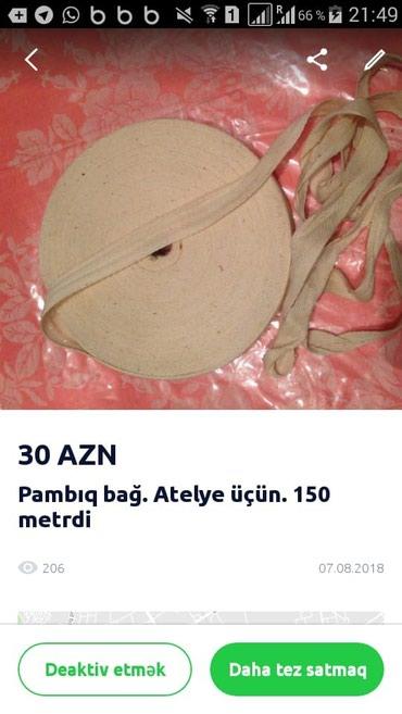 Bakı şəhərində Tekstil