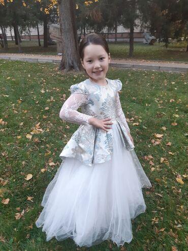 Продаю срочно детское шикарное платье ручная работа от @arzubekavonama