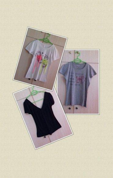 μπλούζες (6€/όλες) ● size : small/medium ● χρώμα : άσπρο / γκρι / μαύρ σε Αχαρνές