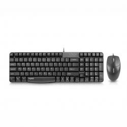 yemek desti - Azərbaycan: Rapoo x120 pro model klaviatura ve maus desti klaviatura ve kompyuter
