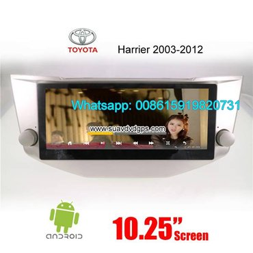Toyota Harrier Car audio radio android GPS navigation camera in Kathmandu - photo 2