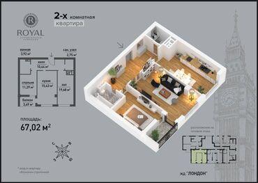 туры в дубай из бишкека 2020 цены в Кыргызстан: Элитка, 2 комнаты, 60 кв. м Бронированные двери, Видеонаблюдение, Лифт