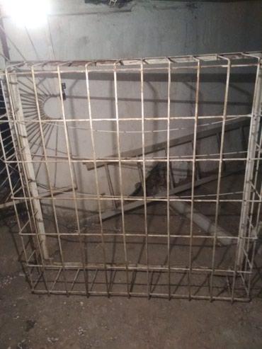 Решетки окон от квартиры 104 серии(3 шт,цена за 1 решетку) в Бишкек