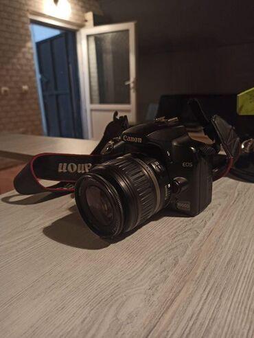canon fotoaparat - Azərbaycan: Fotoaparat Canon 1000D model. Usdunde canta+4gb yadda. Kartı
