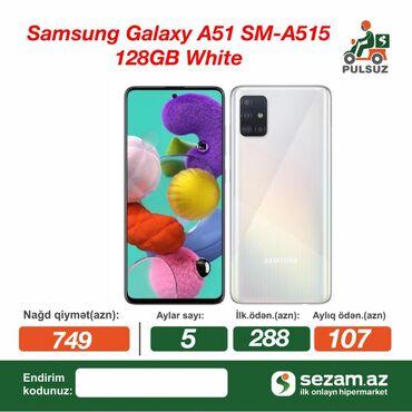 Yeni Samsung A51 128 GB ağ