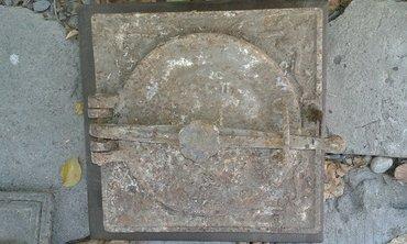 Дверца для контрамарки и печки. Большая - 250 сом, печка - 250 сом. в Бишкек - фото 2