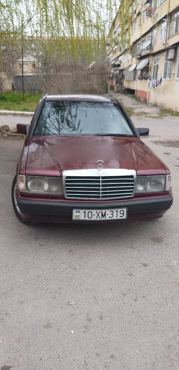 İşlənmiş Avtomobillər Azərbaycanda: Mercedes-Benz 190 1.8 l. 1992 | 370000 km