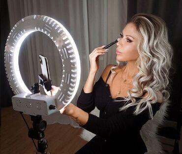 Аксессуары для фото и видео в Кыргызстан: Магазин кольцевых ламп оптом и в розницу все размеры 4 вида освещения
