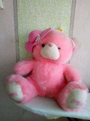 Игрушки в Шопоков: Продаю розового мишку